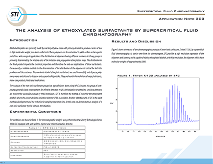303 Ethoxylated Surfactants