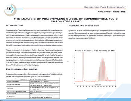 305 Polyethylene Glycol